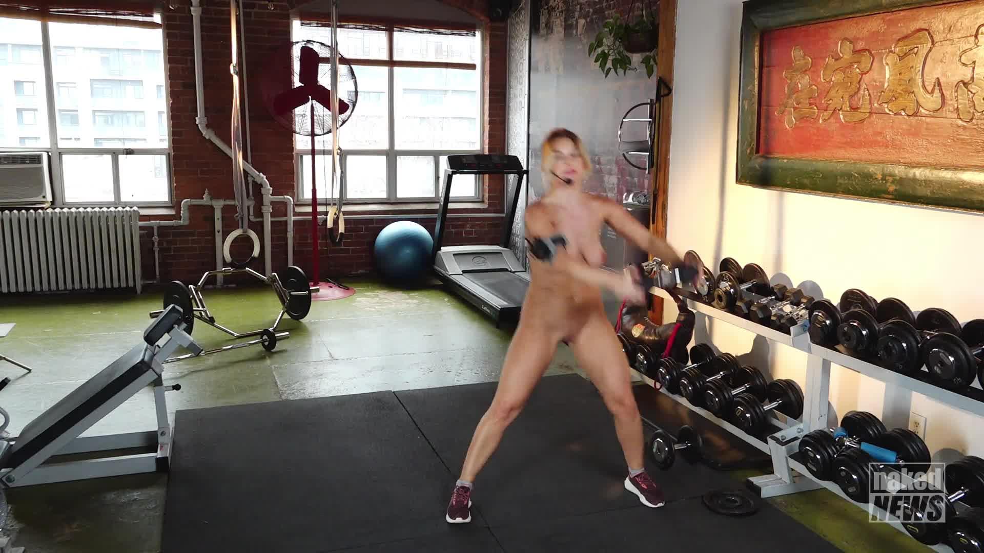 Naked news porn
