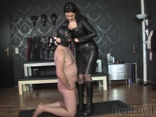 Porn online FemmeFataleFilms – Kiss My Leather – Complete Film  Starring Lady Victoria Valente femdom