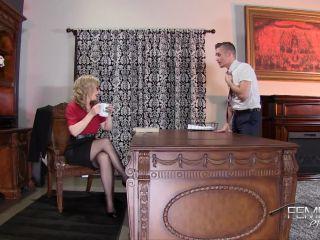 VICIOUS FEMDOM EMPIRE  Pussy Licking Boy Toy  Starring Mistress Nina