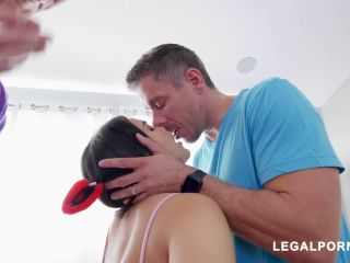 Pornstar Valentina Nappi Fucks 2 Cocks At Once AB005 / 16.02.2018
