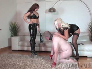 Femme Fatale Films — Mistress Heather, Lady Mia Harrington — Brutal  Complete Film — Blond Hair, Crop