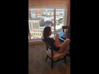 Touchofluxure in massive cumshot on girl watching porn