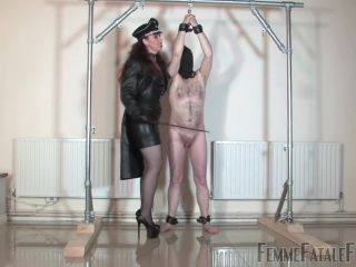 Bondage Male – Femme Fatale Films – Lashed Man Standing – Part 1 – Mistress Lady Renee