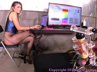 Brat Princess 2  BP  Teasers Try Out New Software at the Edging Salon Complete Part 2 [FACE SITTING]