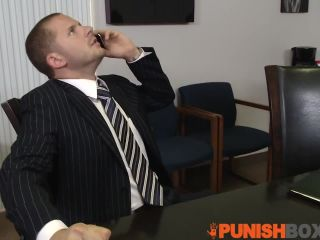 3489 Submissive punished secretary forced suck director's co