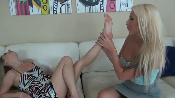 Big Tits Lesbian Blonde
