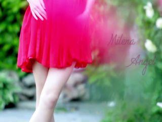 Milena Angel in Spanish rose