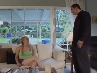 My Favorite Babysitters #11, Scene 1 , squirting babes on blonde