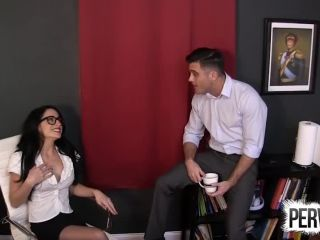 Cleo - Office Strap On Punishment With Cleo