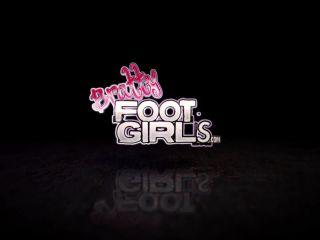 anna deville femdom Stuck Toe Sucker – Bratty Foot Girls – Nikki Next, Morgan Delray, bratty foot girls on fetish porn
