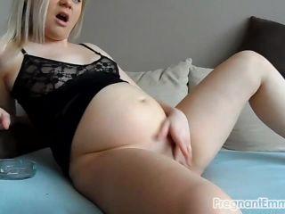 Masturbating while smoking - Emma