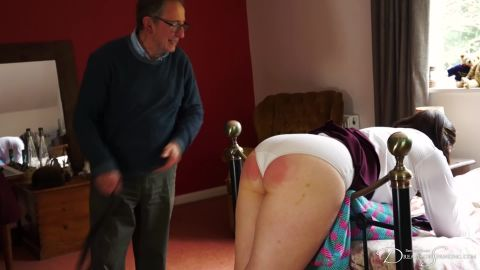 Pandora Blake - Waiting At Home With The Belt (1080p)