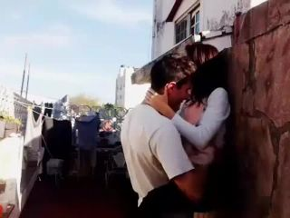 Pakistani Young Couple Outdoor