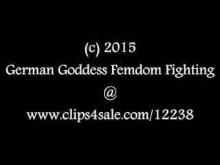german goddess femdom fighting  jenni czech  bitchy blonde pay-day collection; second victim  smother