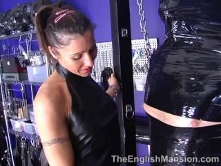 princess anuska  taped and tormented  ballbusting
