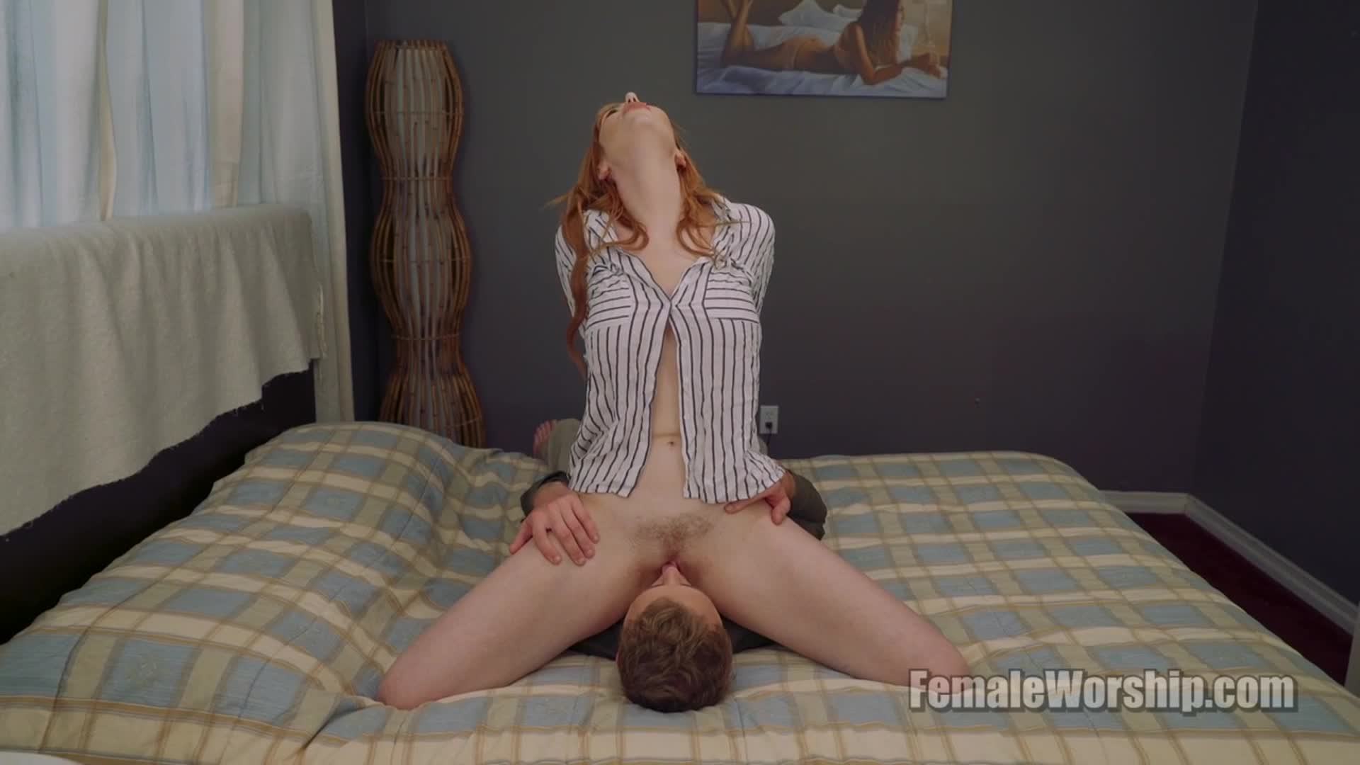 Man Licking Pussy Fucking