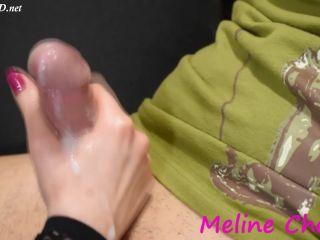 Multi cumshot handjob compilation – Meline Cherie