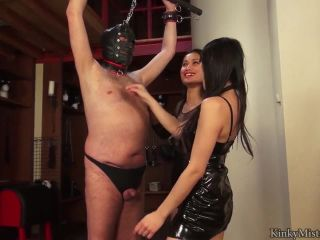 kinkymistresses  whipped by two asian mistresses  spanking men