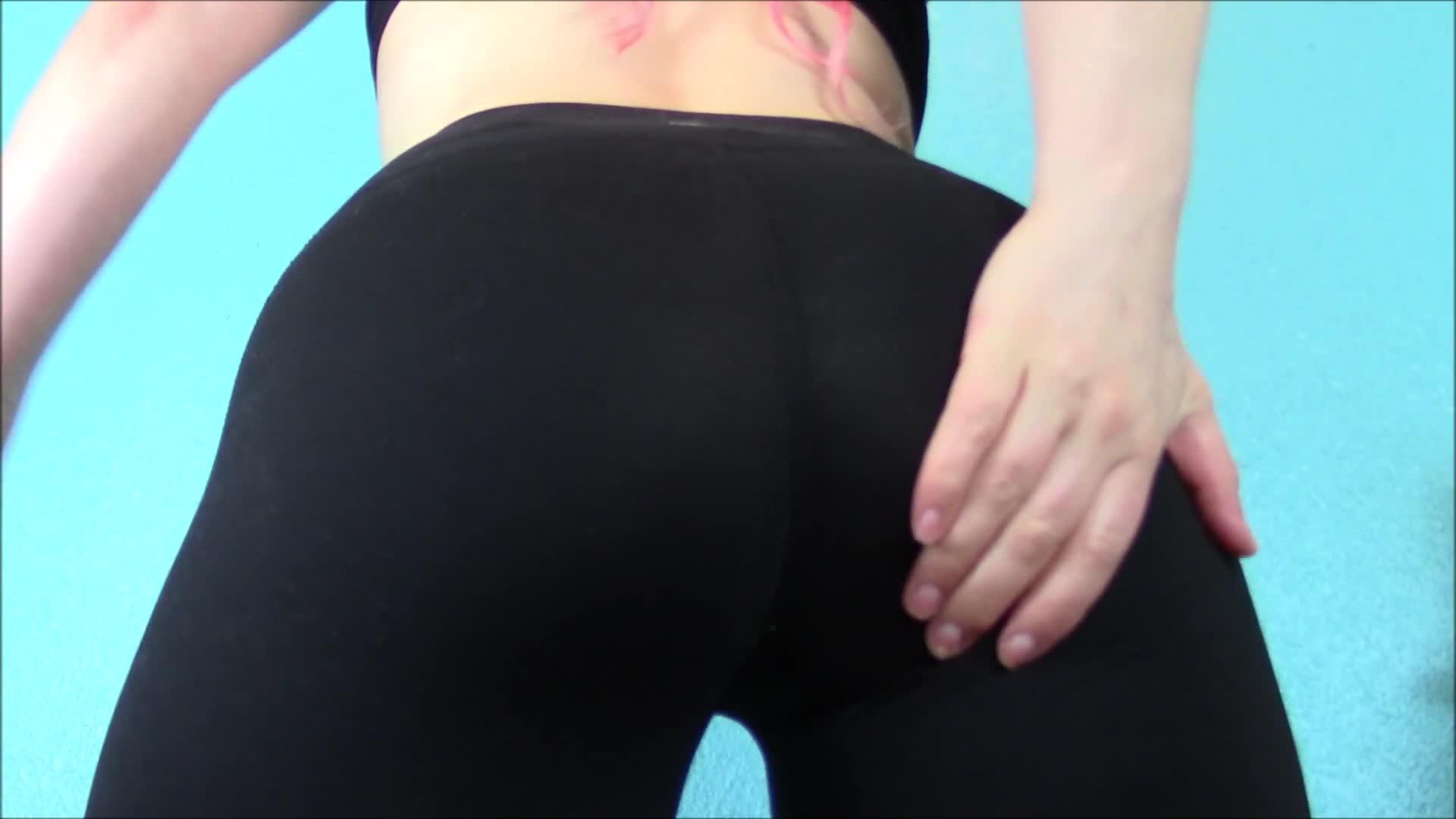 Candid Teen Ass Leggings