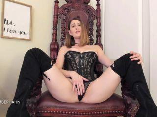 Amber Hahn – Cum Eat For Me