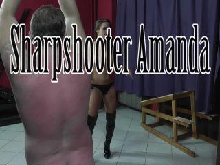 lady kate femdom CRUEL MISTRESSES – Sharpshooter Amanda – Mistress Amanda – Whip, Whipped, mistress amanda on femdom porn