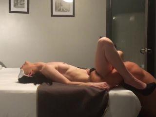 Amateur Pretending to be strangers for hard sex