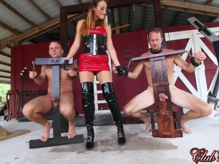 Handjobs – Cruel & Unusual FemDom – Milking Day – Duel Draining Contest Starring Mistress Paris