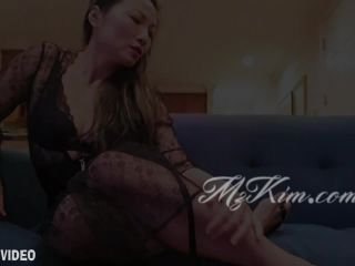 Mz. Kim, Asian Provocateur – Step-Mommy's Feet and Spit