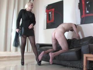 Cropface Slapping – FemmeFataleFilms – Never Good Enough – Comlete Film – Mistress Heather