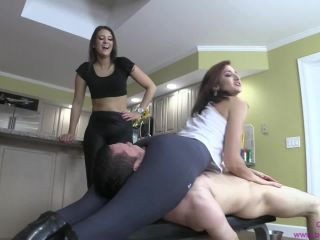 Brat Princess 2 – Amadahy and Kendall – Destroy Their Human Thigh Master