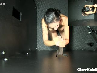 18.06.20 Destiny's First Gloryhole POV 10 cumshots