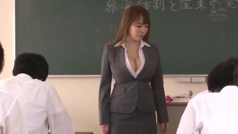 PPPD-818 Time-Stopping Titty-Fondling Academy - censored - scene 1