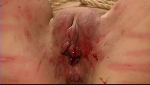 Brutal BDSM Fyre – Bloody Cunt
