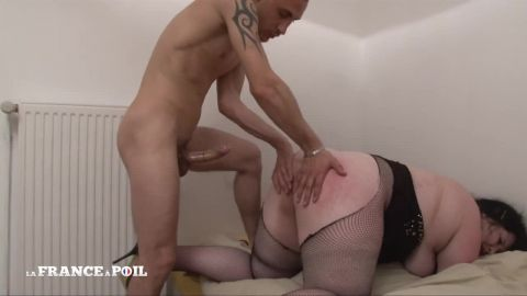 Adèle - Young BBW gets her ass hammered