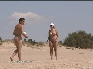 Hot nudist girl