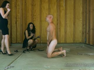 Corporal Punishment – The Mean Girls – Electrocuting Your Testicles – Princess Carmela and Princess Adrianna