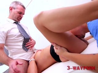 3-way Porn - Horny Mom Teach her Step Son how to have Sex