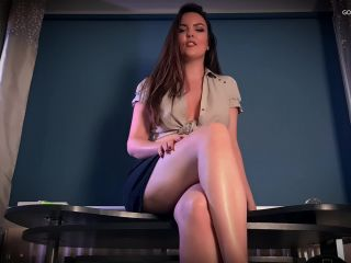 Goddess Kate Alexis – Bratty Schoolgirl Blackmail-Fantasy