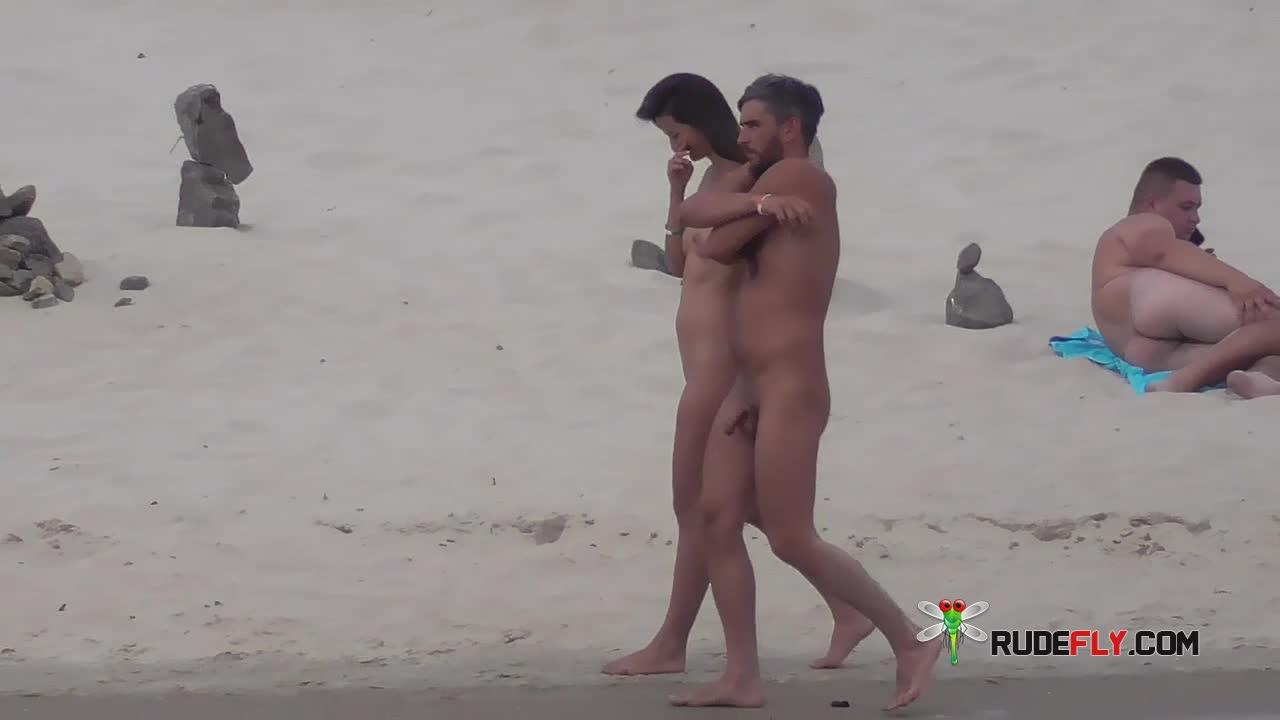 Black Sea Nude Beach - sharp boobs 3 - k2s.tv